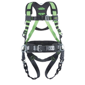 Miller Revolution Construction Harness w/ Belt & Side D-Rings
