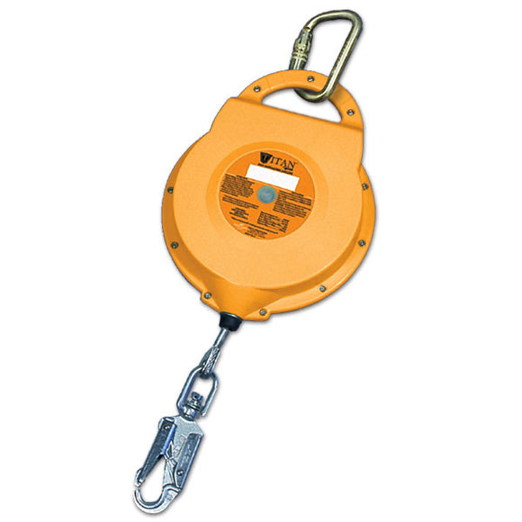 Miller Titan Self Retracting Lifeline-Galvanized Steel-65'