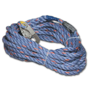 "Miller 5/8"" Polyester Blend Vertical Lifeline - 25 ft."