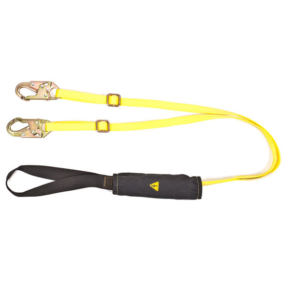 MSA ArcSafe® Energy-Absorbing Twin-Leg Lanyard - 6 ft.