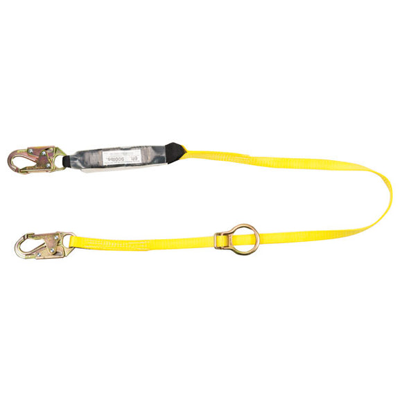 MSA Workman® Energy-Absorbing Tie Back Lanyard - 6 ft.