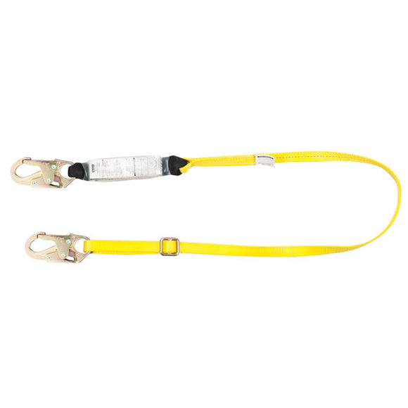 MSA Workman® Energy-Absorbing Lanyard - 6 ft.