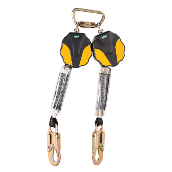 MSA Workman® Mini Twin Leg PFL - 6 ft.