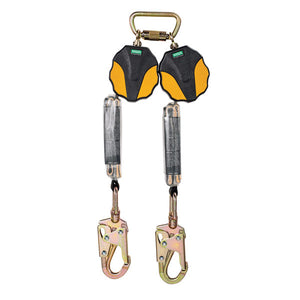 MSA Workman® Mini Twin Leg PFL w/ Swivel Snap Hooks - 6 ft.