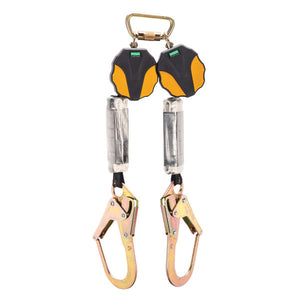 MSA Workman® Mini Twin Leg PFL w/ Rebar Hooks - 6 ft.