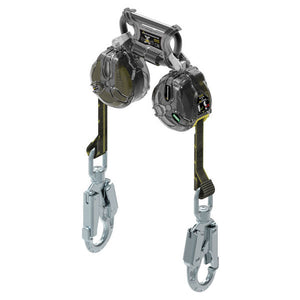 MSA Twin Leg Latchways Mini PFL w/ Swivel Snap Hooks - 6 ft.