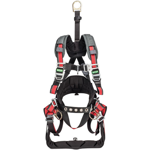 MSA EVOTECH® Derrick Harness w/ Metal Saddle
