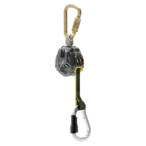 MSA Latchways Mini Personal Fall Limiter w/ Aluminum Carabiner - 6 ft.