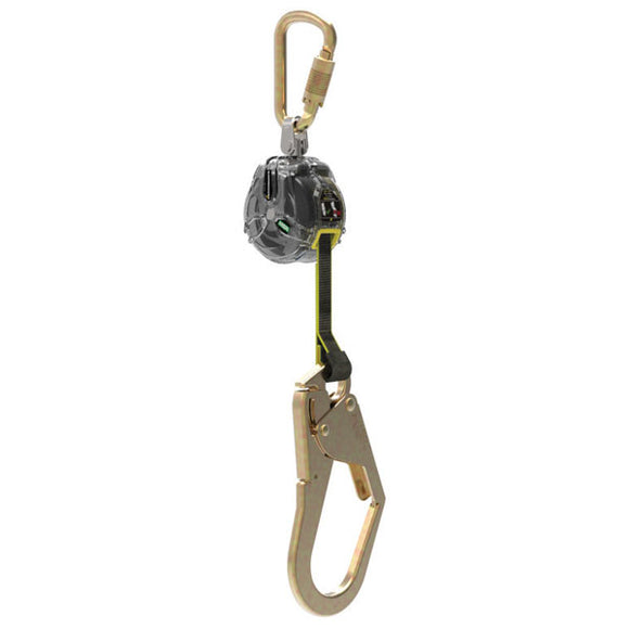 MSA Latchways Mini Personal Fall Limiter w/ Rebar Hook - 6 ft.