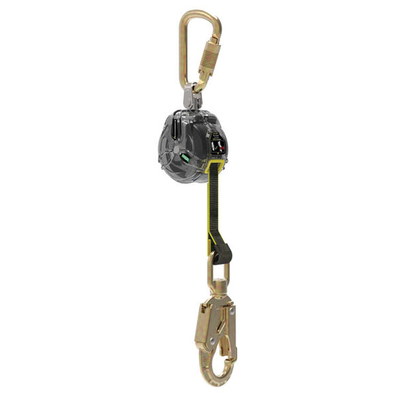 MSA Latchways Mini Personal Fall Limiter w/ Swivel Snap Hook - 6 ft.