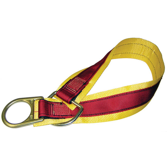 MSA Double D-Ring Anchor Strap - 4 ft.