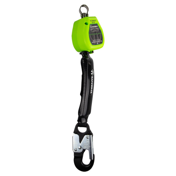 SafeWaze Lightweight Retractable w/ Aluminum Snap Hook - 6 ft.