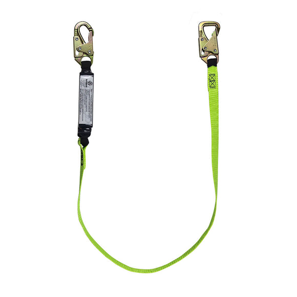 SafeWaze High Profile Tie-Back Lanyard - 6 ft.