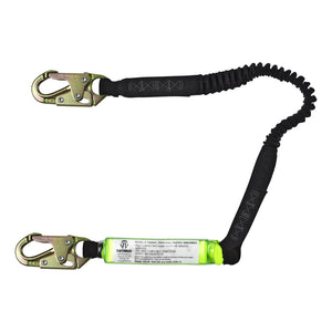 SafeWaze Stretch Shock Absorbing Lanyard