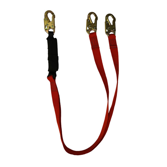 SafeWaze PRO+ Dual-Leg Welding Shock Lanyard - 6 ft.