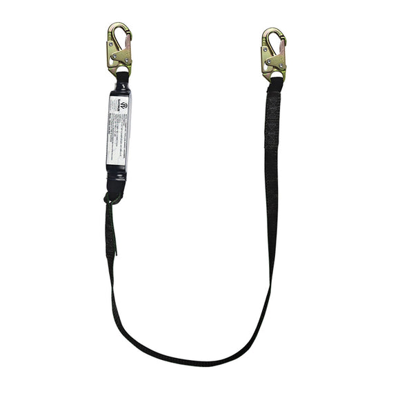 SafeWaze PRO+ 400 lb. Rated Shock Absorbing Lanyard - 6 ft.