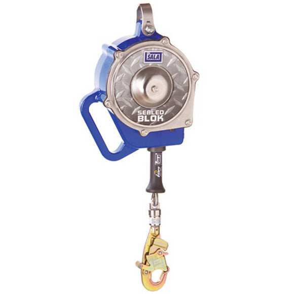 DBI-SALA Sealed-Blok Self Retracting Lifeline-Galvanized Steel-30'