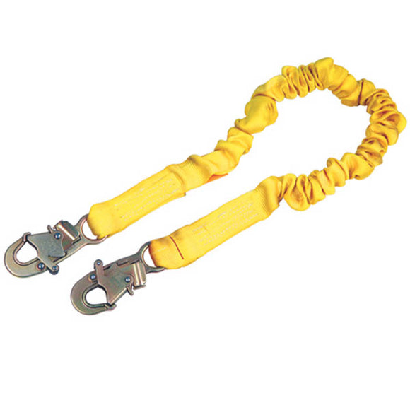 DBI-SALA Shockwave 2 Stretch Lanyard-Snap Hooks-Single Leg
