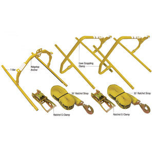 Super Anchor G-Clamp Fall Protection System