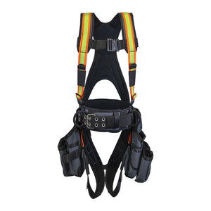 Super Anchor Hi-Vis Deluxe Tool Bag Harness - Front