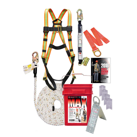 Super Anchor Max Fall Protection Kit
