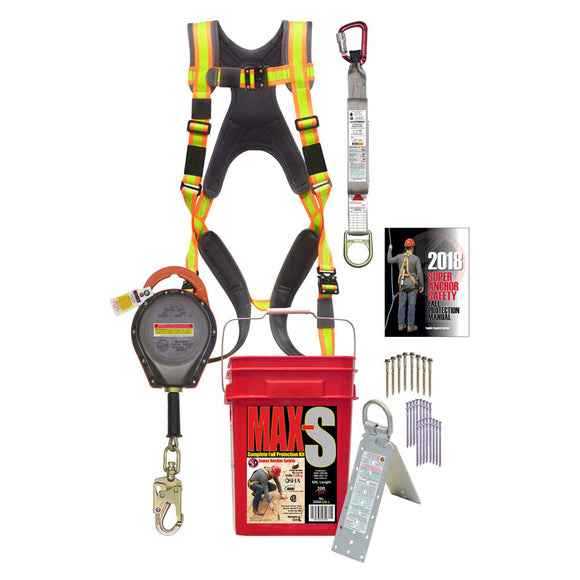 Super Anchor MAX-S Pro Series Safety Kit