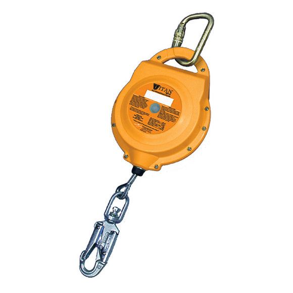 Miller Titan Self Retracting Lifeline-Galvanized Steel-30'