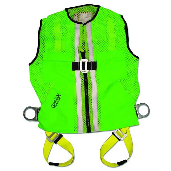 Guardian Green Mesh Construction Vest Harness