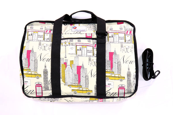 Cityscape Print - Ultimate Shoe Bag - Ella Dawn Designs LLC