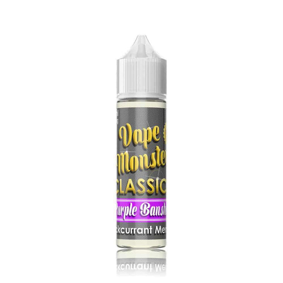 VAPE MONSTER,CLASSIC,PURPLE BANSHEE,E-LIQUID,70VG,30PG,YE OLDE VAPE SHOPPE