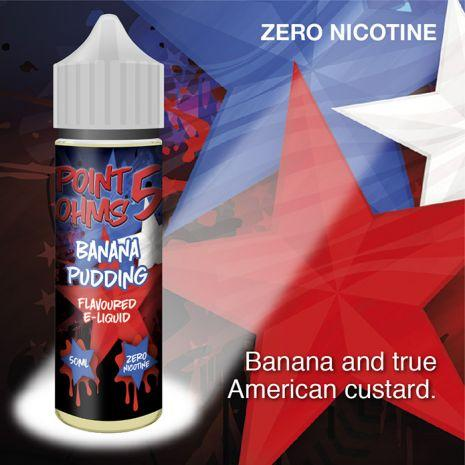 Banana Pudding by Point Five Ohms (50ml) & Nicotine Booster