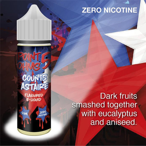 Counts Astaire by Point Five Ohms (50ml) & Nicotine Booster