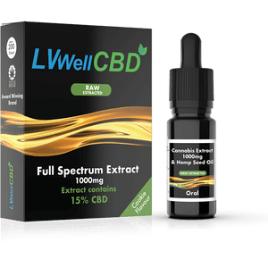 Full Spectrum Drops - Raw Extracted - 1000mg CBD - Cookie