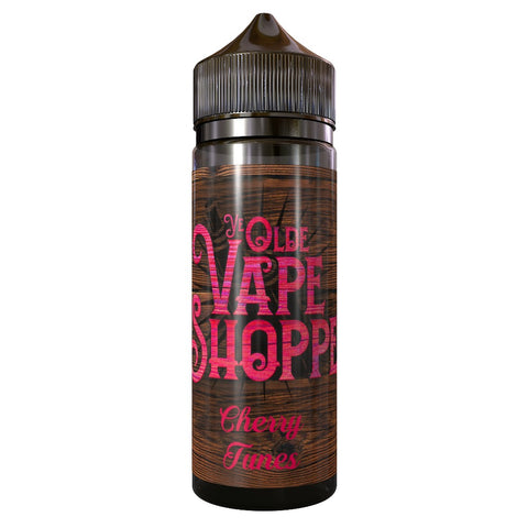 CHERRY TUNES 100ML SHORTFILL BY YE OLDE VAPE SHOPPE