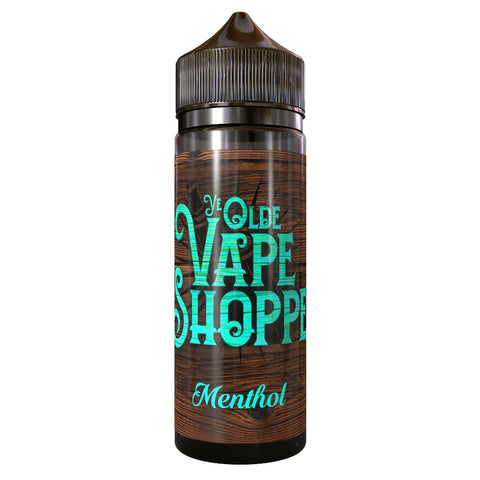 MENTHOL 100ML SHORTFILL BY YE OLDE VAPE SHOPPE