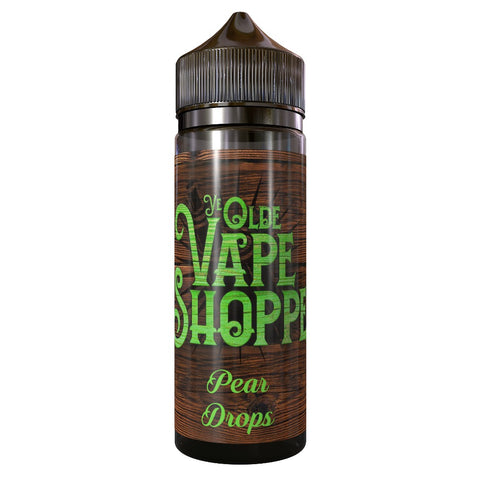 PEAR DROPS 100ML SHORTFILL BY YE OLDE VAPE SHOPPE