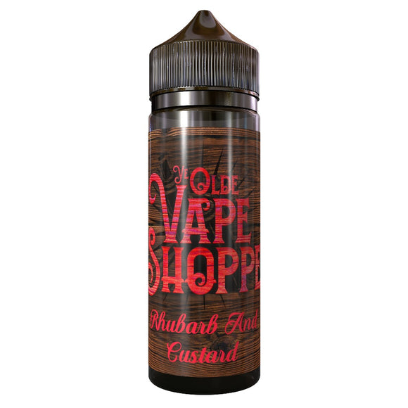 RHUBARB & CUSTARD 100ML SHORTFILL BY YE OLDE VAPE SHOPPE