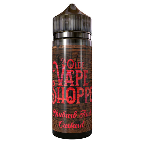 RHUBARB & CUSTARD 50ML SHORTFILL BY YE OLDE VAPE SHOPPE