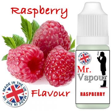 Raspberry by Mr Vapour (80ml) & Nicotine Boosters