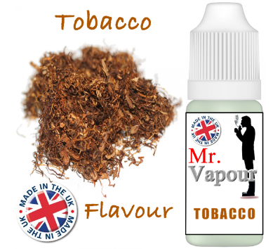 Tobacco by Mr Vapour (80ml) & Nicotine Boosters
