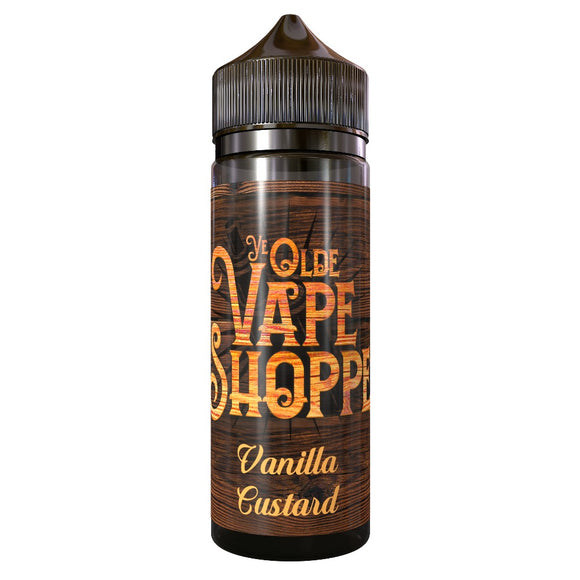 VANILLA CUSTARD 50ML SHORTFILL BY YE OLDE VAPE SHOPPE