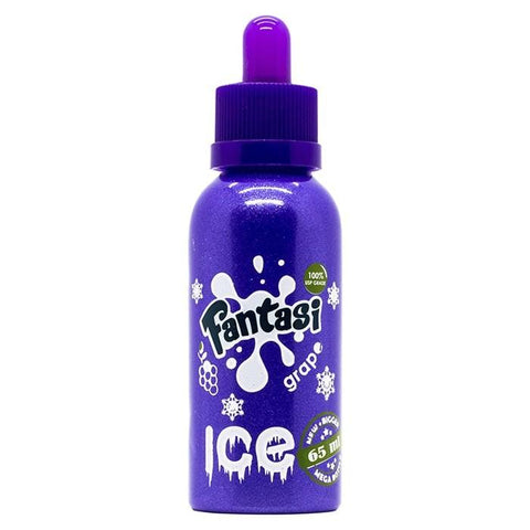 Grape Ice By Fantasi (50ml) & Nicotine Booster