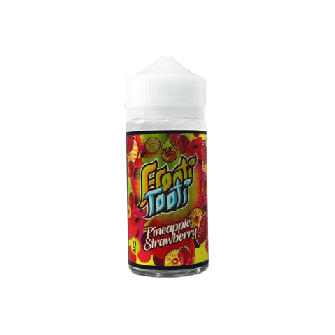 FROOTI TOOTI,SHORTFILL,PINEAPPLE STRAWBERRY,E-LIQUID,70VG,30PG,YE OLDE VAPE SHOPPE