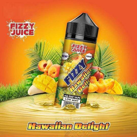 FIZZY JUICE,SHORTFILL,HAWAIIAN DELIGHT,E-LIQUID,70VG,30PG,YE OLDE VAPE SHOPPE