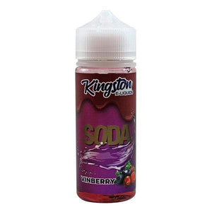 KINGSTON,SHORTFILL,SODA VINBERRY,E-LIQUID,70VG,30PG,YE OLDE VAPE SHOPPE