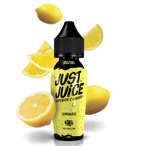 JUST JUICE,SHORTFILL,LEMONADE,E-LIQUID,70VG,30PG,YE OLDE VAPE SHOPPE