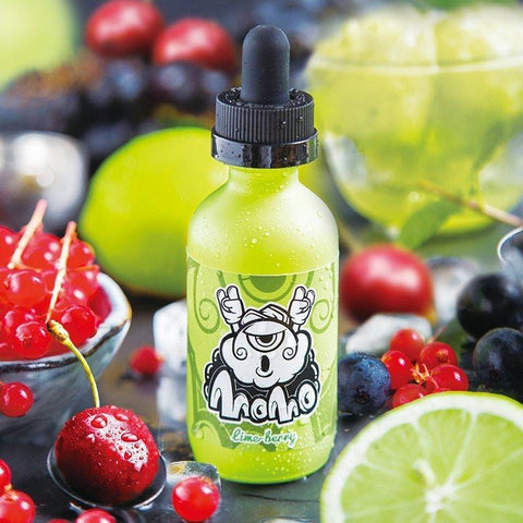 Lime Berry by Momo E-Liquid (50ml) & Nicotine Booster
