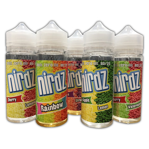 NIRDZ,NIRDZ,GRAPE & STRAWBERRY,E-LIQUID,80VG,20PG,YE OLDE VAPE SHOPPE