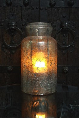 "15"" Mercury Candle Jar"