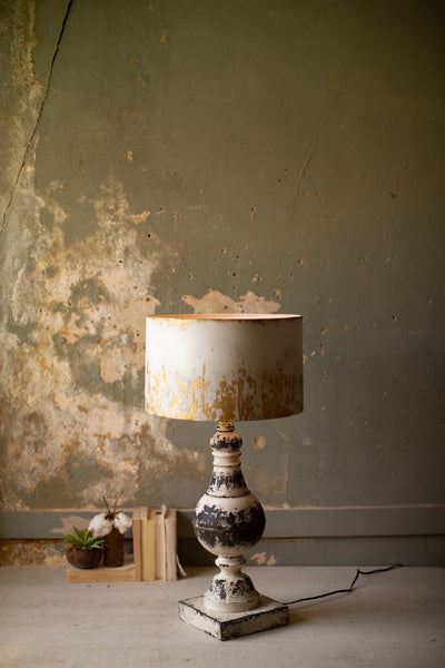 Metal table top Lamp